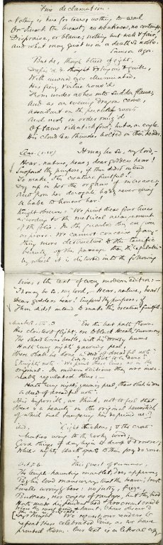 George Eliot's commonplace book