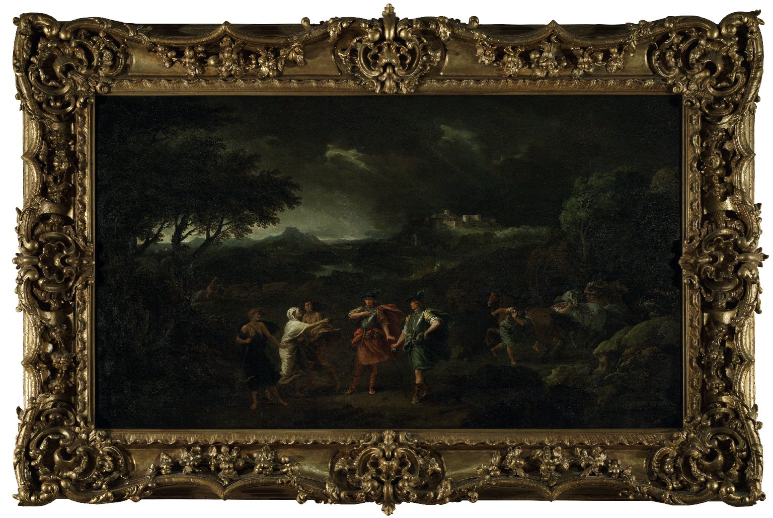 "Francesco Zuccarelli's ""Macbeth Meeting the Witches"""