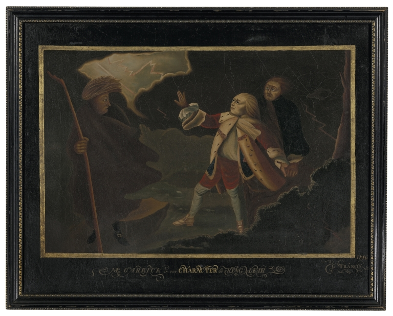 George Francis: Mr. Garrick in the Character of King Lear ...
