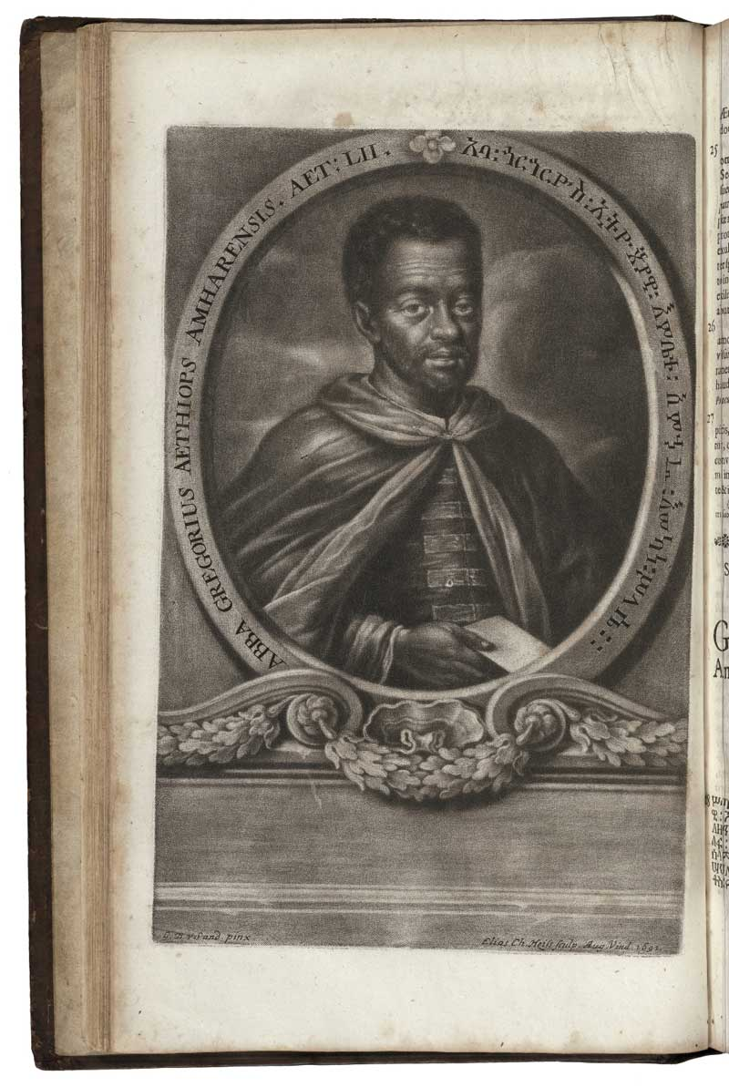 Portrait of Ethiopian cleric Abba Gregory