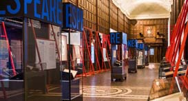 America's Shakespeare exhibition. Photo by El Mansouri Photography.
