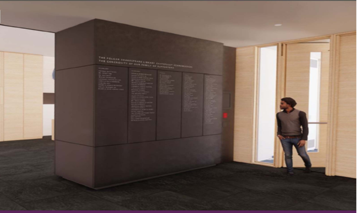 West Entry Donor Wall