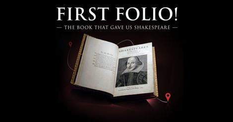 First Folio tour | Folger Shakespeare Library