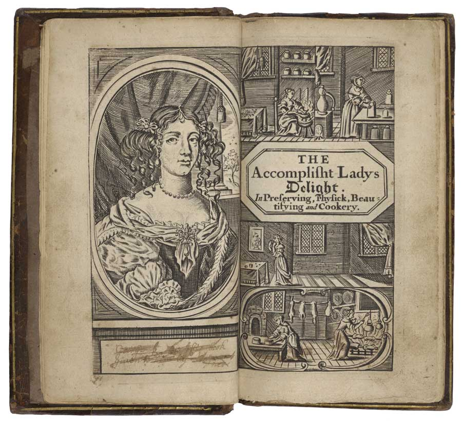 Hannah Woolley's The Accomplisht Lady's Delight (1684 edition)