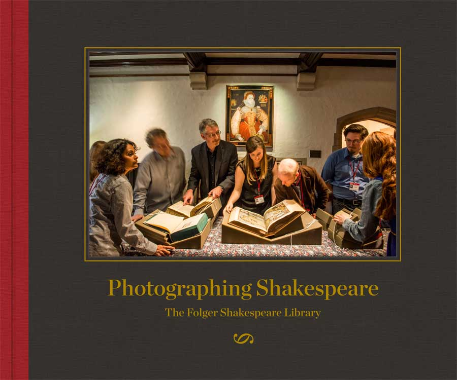 Photographing Shakespeare book cover