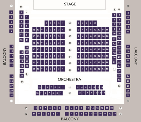 Danny Elfman Tim Burton Festival Interview additionally Bexleyheath further About Us together with Seating as well Chrysler Hall. on orchestra seating