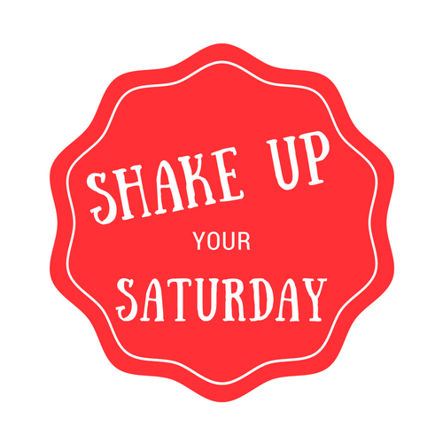 Shake Up your Saturday Logo