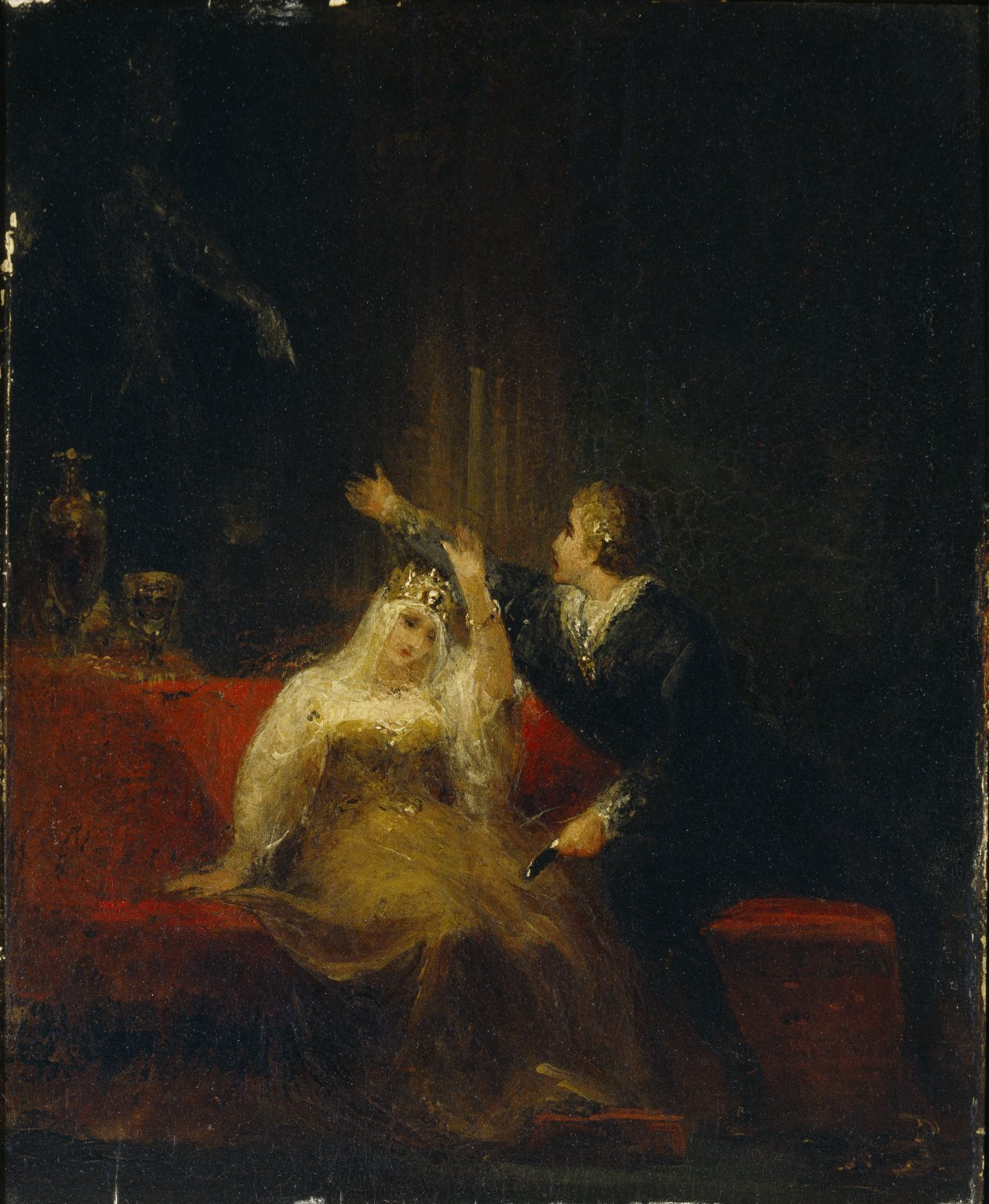 Famous hamlet painting