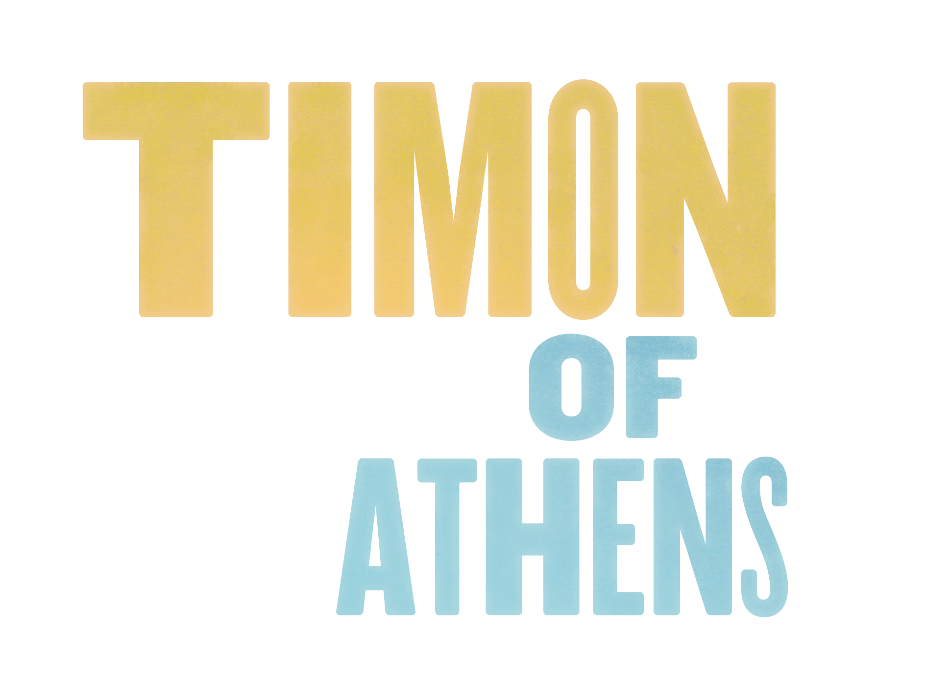 Timon of Athens - Student Matinee