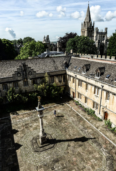 500 Years of Treasures From Oxford Homepage Promo