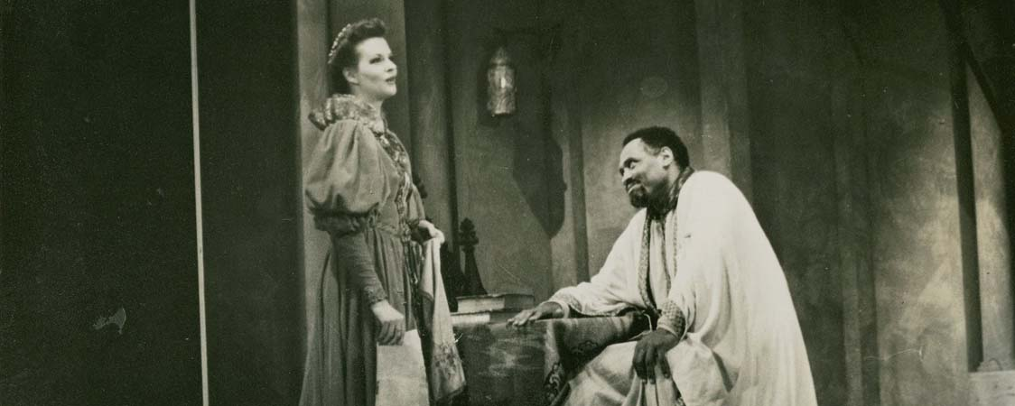 Paul Robeson in Shakespeare's Othello