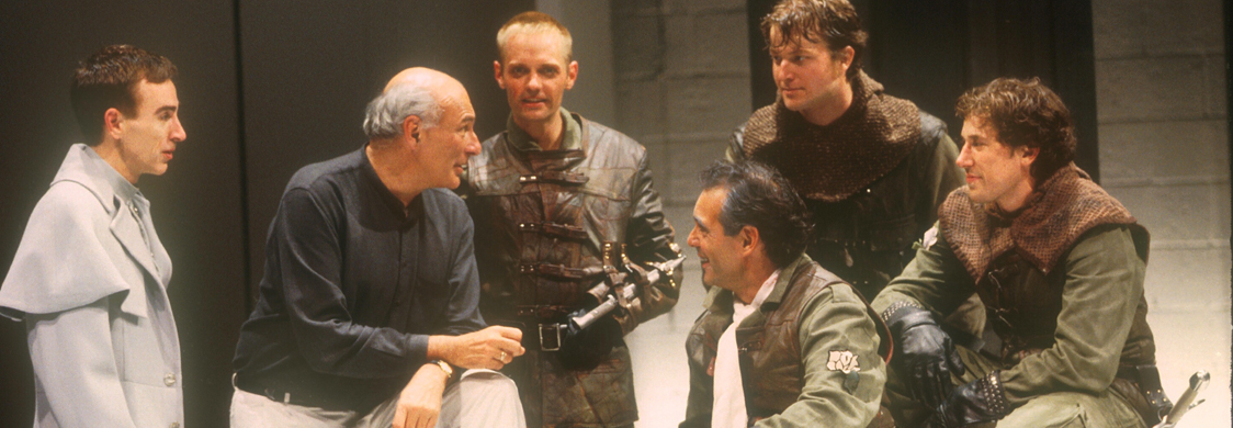 Michael Kahn directs Henry VI at the Shakespeare Theatre Company. Photo by Carol Rosegg.