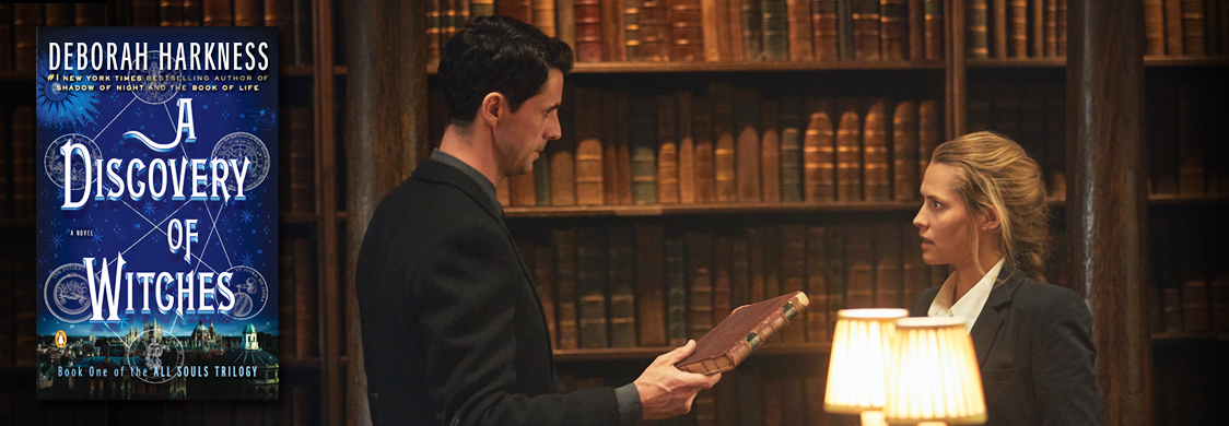 """A Discovery of Witches,"" based on the novel by Deborah Harkness, stars Matthew Goode and Teresa Palmer. The show premieres on AMC and BBC America April 7, 2019."