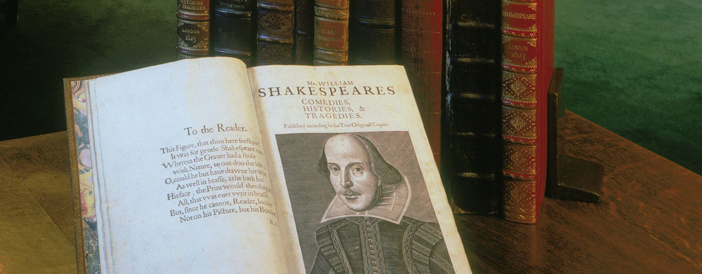 First Folios Folger Shakespeare Library