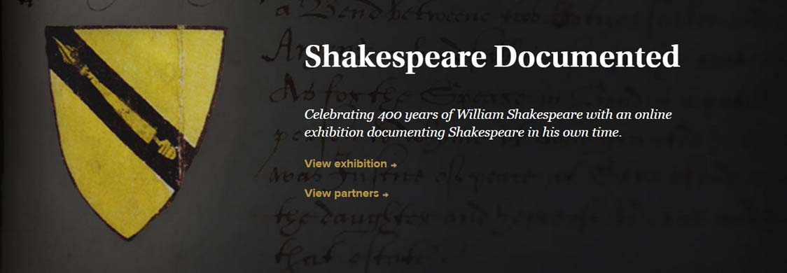 Shakespeare Documented