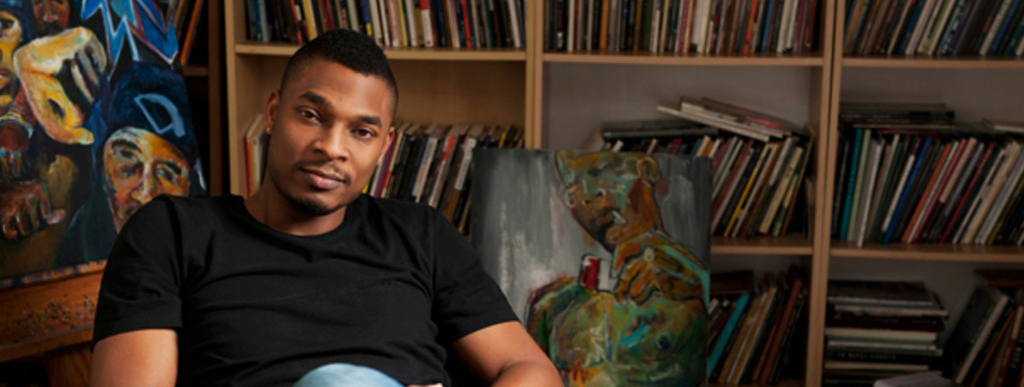 Poet Terrance Hayes. Photo by Becky Thurner Braddock