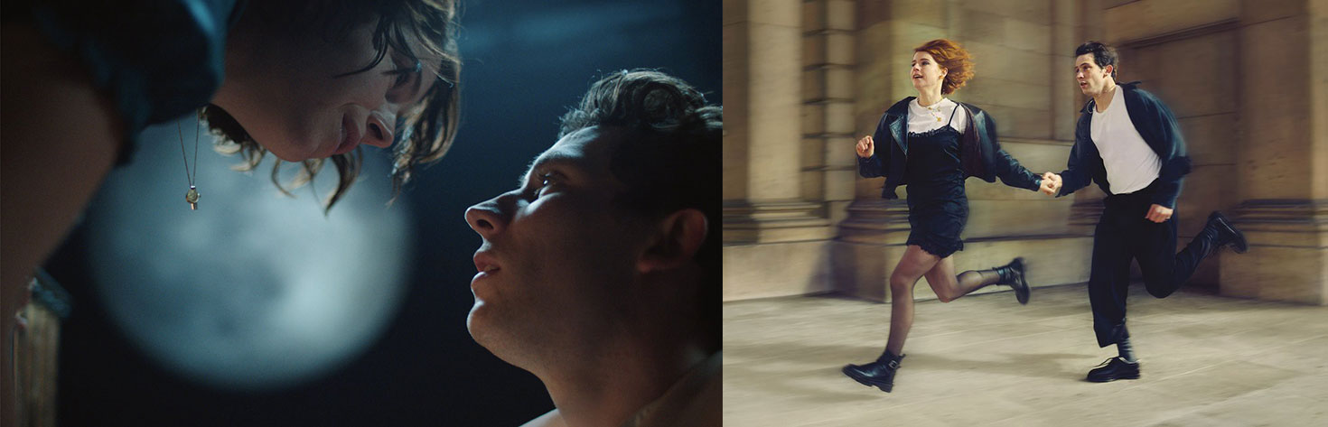 """Jessie Buckley and Josh O'Connor in """"Romeo and Juliet"""" National Theatre"""