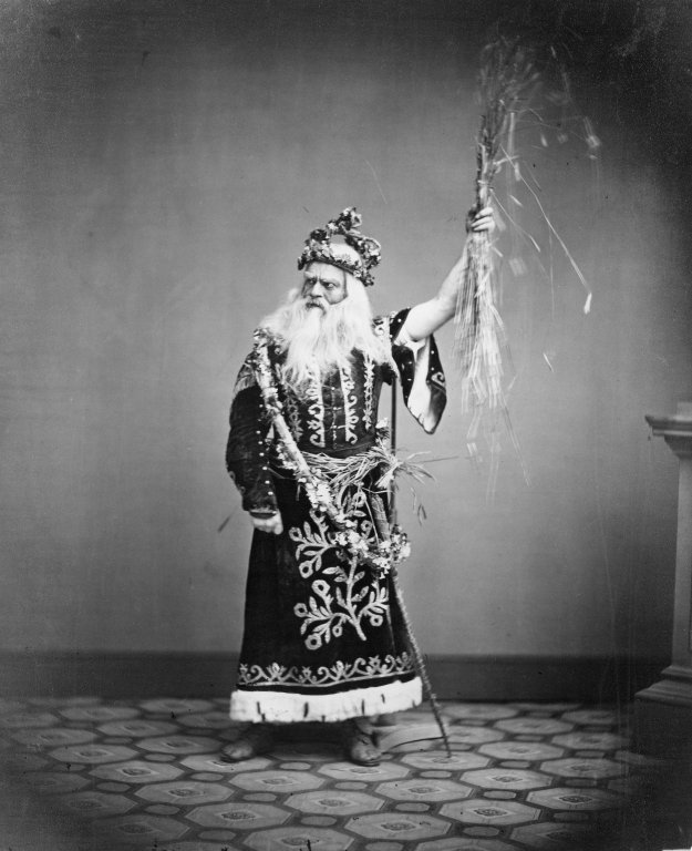 Edwin Forrest as King Lear (mid-19th century)