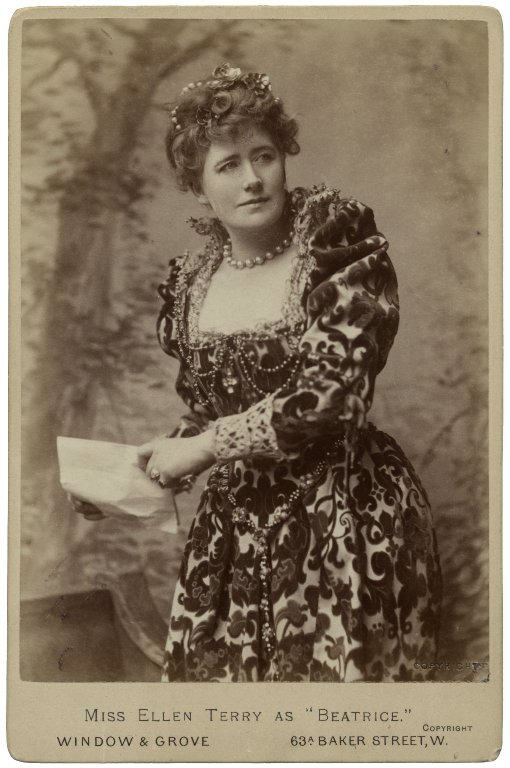 Ellen Terry as Beatrice (1882)