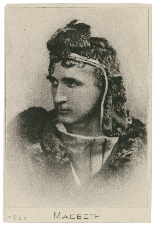 Edwin Booth as Macbeth (1860)