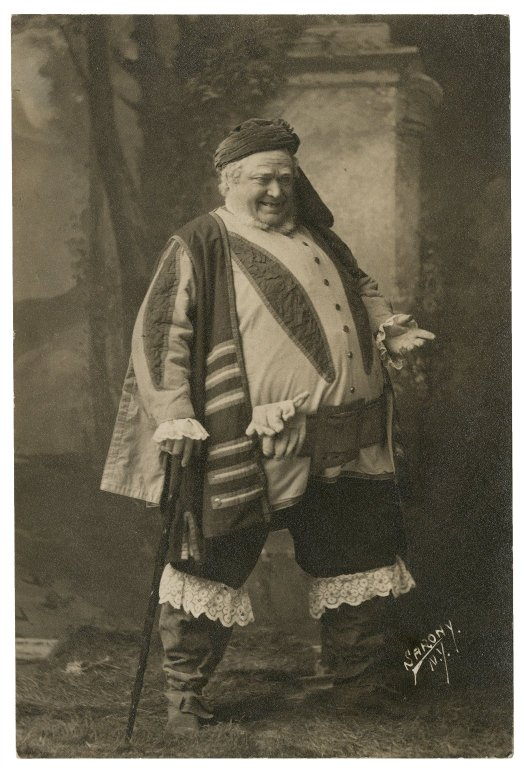 John Jack as Falstaff (late 19th century)