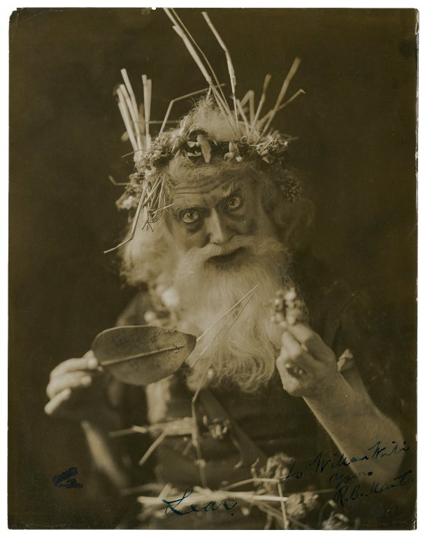 Robert Mantell as King Lear (early 20th century)