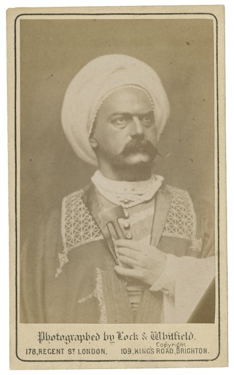 Tommaso Salvini as Othello (1857)