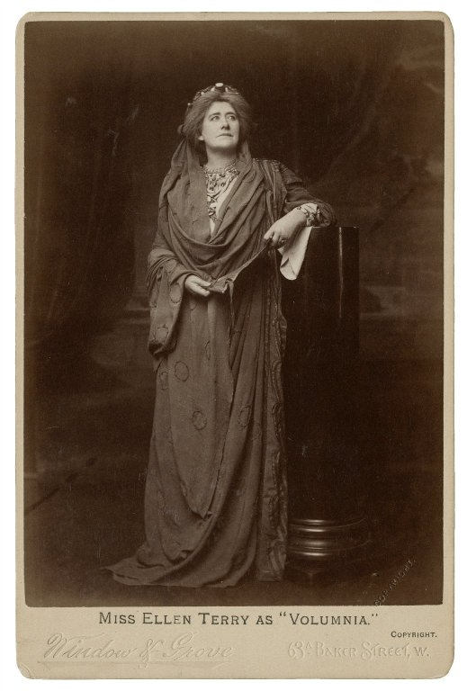 Ellen Terry as Volumnia (1901)