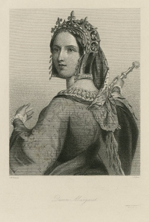 Print of Queen Margaret (mid-19th century)