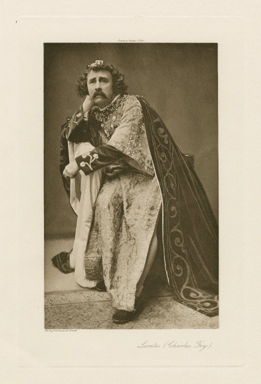 Charles Fry as Leontes (1907)