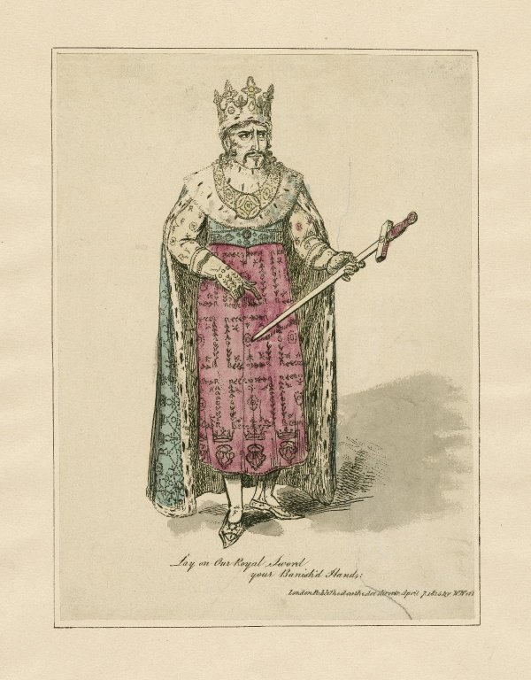 Edmund Kean as Richard II (1815)