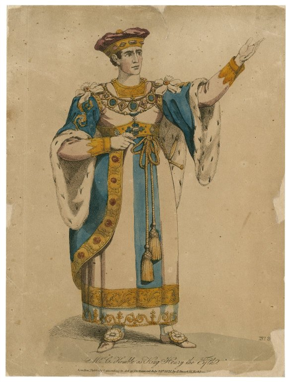 Charles Kemble as Henry V (1821)