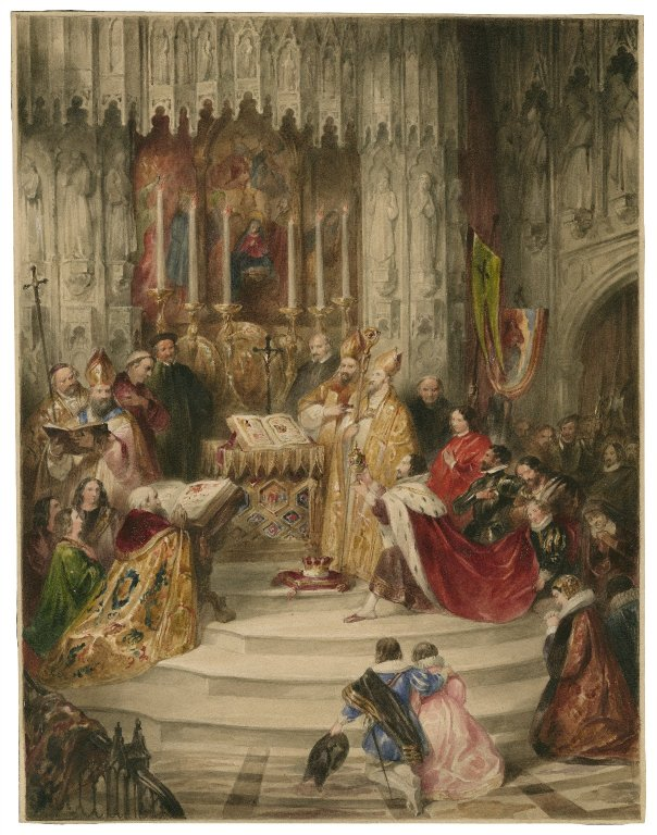 marriage of Henry and Margaret (act 1, scene 1; 19th century)