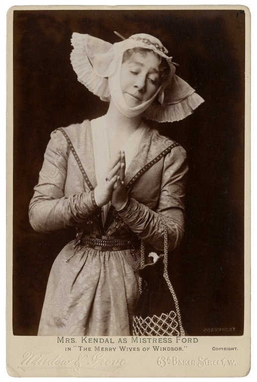 Madge Kendall as Mistress Ford (early 20th century)