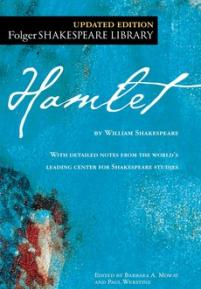 cover of the Folger edition of Hamlet