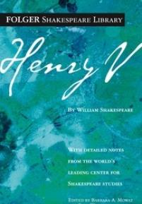 cover of the Folger edition of Henry V