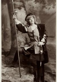 Photograph of Ada Rehan as Rosalind (1890)