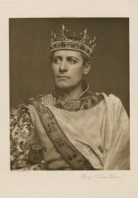 Lewis Waller as Henry V (ca. 1910)