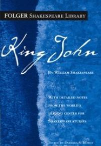 cover of Folger edition of King John
