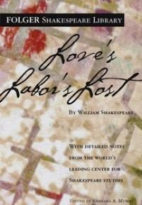 cover of Folger edition of Love's Labor's Lost