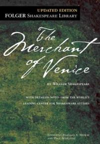 cover of the Folger edition of Merchant of Venice