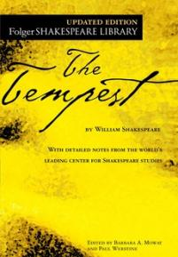 cover of the Folger edition of The Tempest