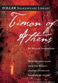 cover of the Folger edition of Timon of Athens