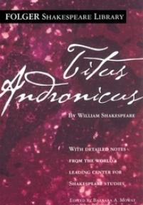 cover of the Folger edition of Titus Andronicus