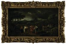 """Francesco Zuccarelli's """"Macbeth Meeting the Witches"""""""