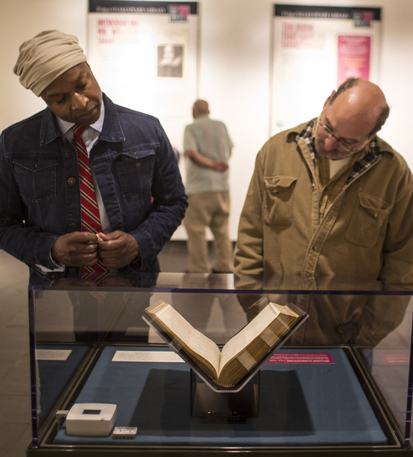First Folio tour in Amherst, MA